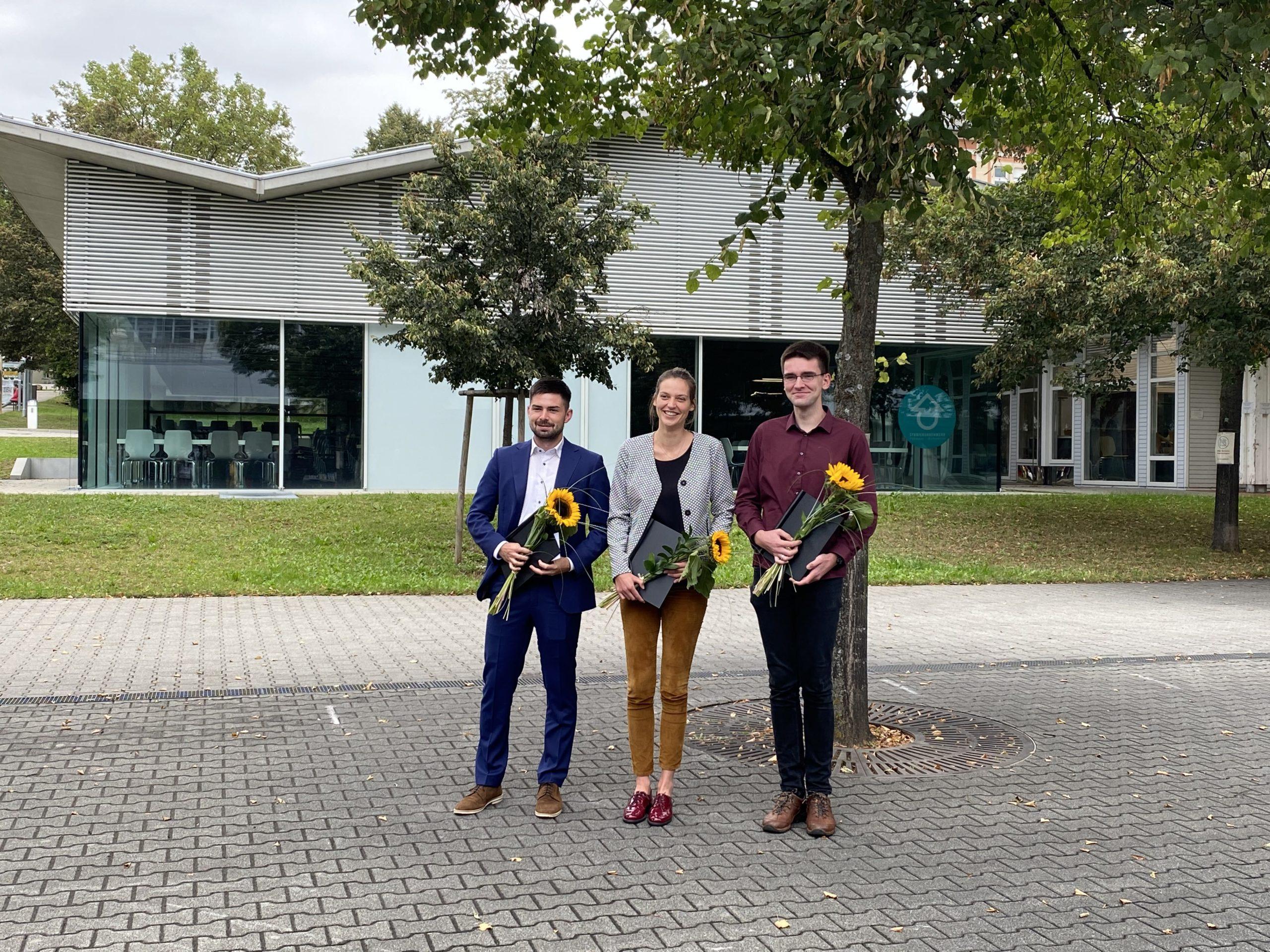 The winners: Hans Ruthenberg Awards